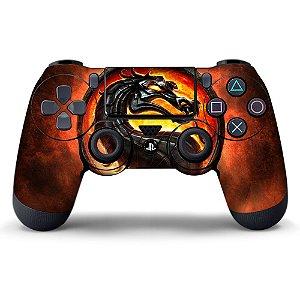 Adesivo de Controle PS4 Mortal Kombat Mod 02