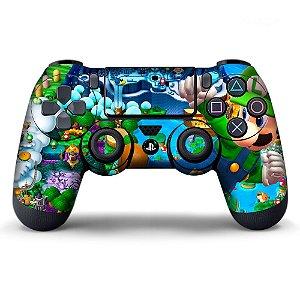 Adesivo de Controle PS4 Mario Bros Mod 03