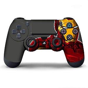 Adesivo de Controle PS4 Iron Man Mod 02