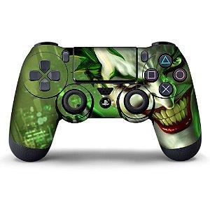 Adesivo de Controle PS4 Coringa Mod 05