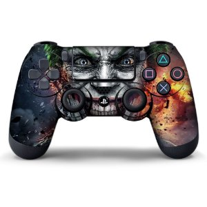 Adesivo de Controle PS4 Coringa Mod 06