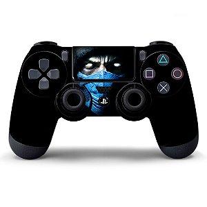 Adesivo de Controle PS4 Mortal Kombat Mod 04