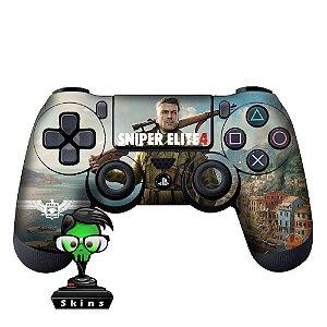 Adesivo de Controle PS4 Sniper Elite Mod 01