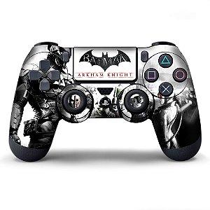Adesivo de Controle PS4 Batman Arkhan Knight Mod 01