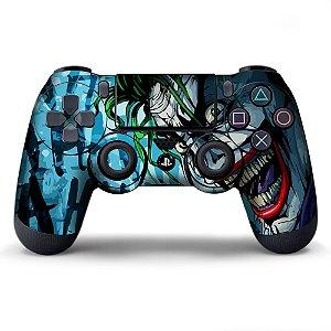 Adesivo de Controle PS4 Coringa Mod 07