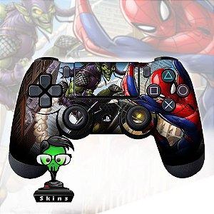 Adesivo de Controle PS4 Spider Man Mod 03