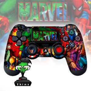 Adesivo de Controle PS4 Avengers Mod 03