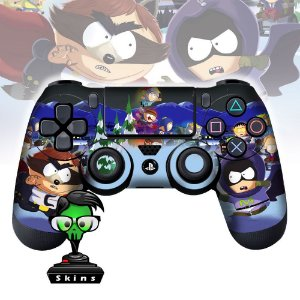 Adesivo de Controle PS4 South Park Mod 02