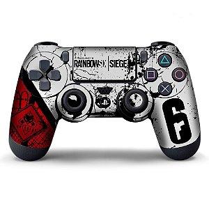 Adesivo de Controle PS4 Raibow Six Mod 4