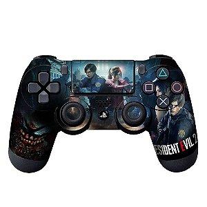 Adesivo de Controle PS4 Resident Evil Mod 02