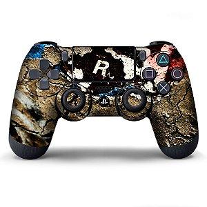 Adesivo de Controle PS4 Rockstar Mod 03