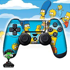 Adesivo de Controle PS4 The Simpsons Mod 03