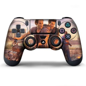 Adesivo de Controle PS4 Uncharted  Mod 02