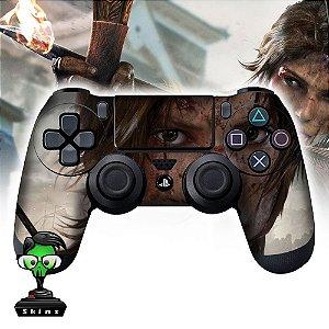 Adesivo de Controle PS4 Tomb Raider Mod 03
