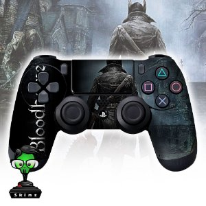 Adesivo de Controle PS4 Bloodborne Mod 01