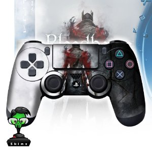 Adesivo de Controle PS4 Bloodborne Mod 03