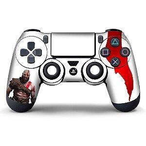 Adesivo de Controle PS4 God of War Kratos Mod 08