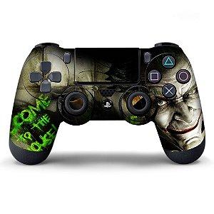 Adesivo de Controle PS4 Coringa Mod 08