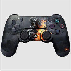 Adesivo de Controle PS4 BF Skull Mod 01