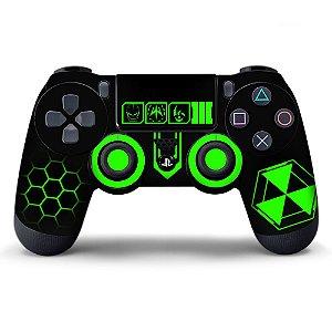 Adesivo de Controle PS4 Black Ops Green Mod 01