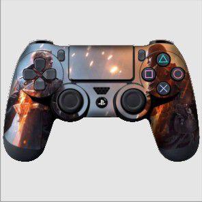 Adesivo de Controle PS4 Battlefield Mod 04