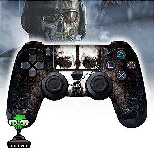Adesivo de Controle PS4 Cod Ghost Mod 01