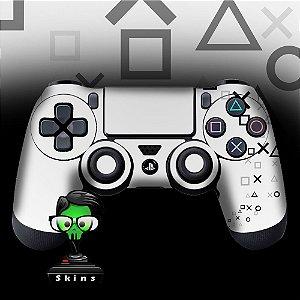 Adesivo de Controle PS4 Controle White