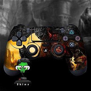 Adesivo de Controle PS4 Dark Souls Mod 02