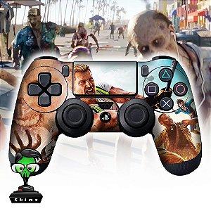 Adesivo de Controle PS4 Dead Island Zombies Mod 01