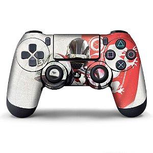 Adesivo de Controle PS4 Destiny Red