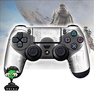 Adesivo de Controle PS4 Destiny White