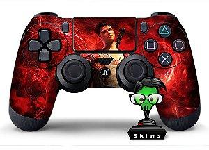 Adesivo de Controle PS4 Devil May Cray Dante Mod 01