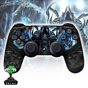 Adesivo de Controle PS4 Diablo Blackl Mod 01