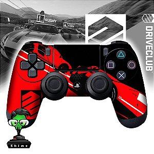 Adesivo de Controle PS4 Drive Club Red