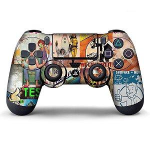 Adesivo de Controle PS4 Fallout Mod 02