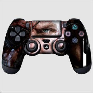 Adesivo de Controle PS4 Metal Gear Snake Mod 01