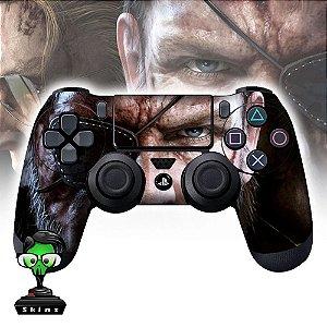 Adesivo de Controle PS4 Metal Gear Solid Mod 01