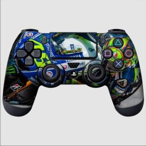 Adesivo de Controle PS4 Moto GP 46 Mod 01