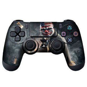 Adesivo de Controle PS4 Payday Mod 02