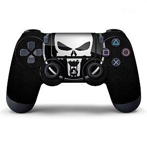 Adesivo de Controle PS4 Punisher Mod 01