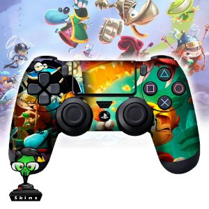 Adesivo de Controle PS4 Rayman Mod 01