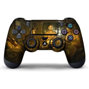 Adesivo de Controle PS4 Resident Evil Mod 03