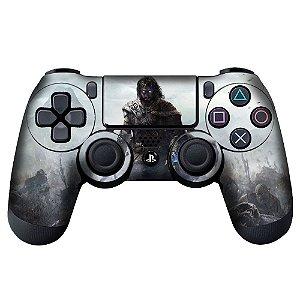 Adesivo de Controle PS4 Shadow of Mordor Mod 02