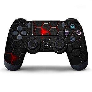 Adesivo de Controle PS4 Splosion Texture Mod 01