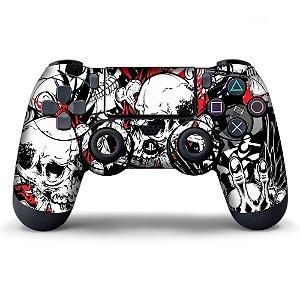 Adesivo de Controle PS4 Sticker Bombs Mod 03