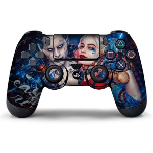 Adesivo de Controle PS4 Suicide Squad Mod 02