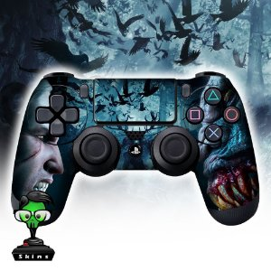 Adesivo de Controle PS4 The Witcher Mod 05