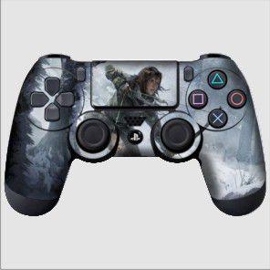 Adesivo de Controle PS4 Tomb Raider Mod 04