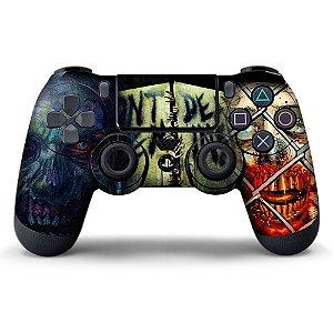 Adesivo de Controle PS4 The Walking Dead Mod 02