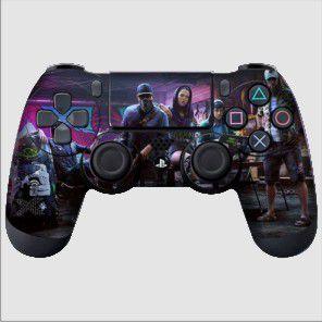 Adesivo de Controle PS4 Whatch Dogs Mod 01